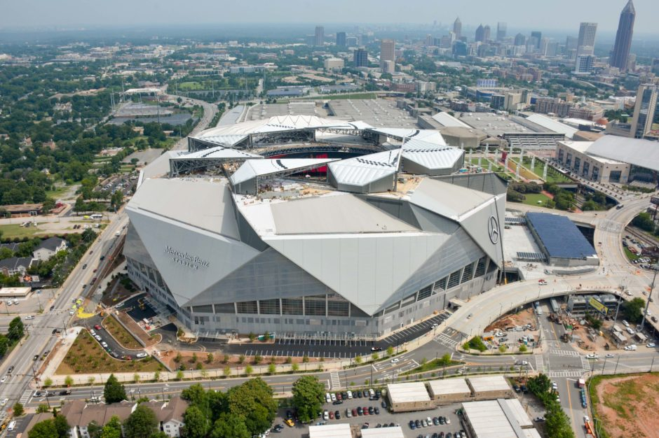 Mercedes Benz Stadium Is Within Walking Distance Of Several Top Atlanta  Restaurants.