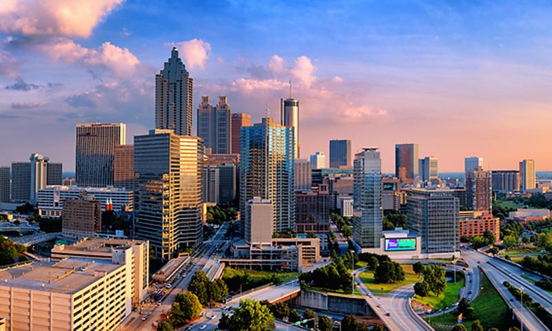 The Midtown Atlanta Skyline wows from any angle. (Gene Phillips, AtlantaPhotos.com)