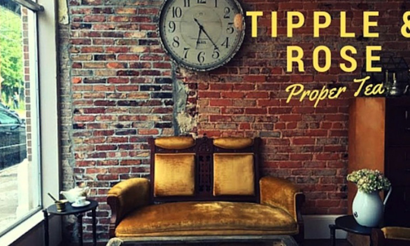 Enjoy tea in a relaxed atmosphere at Tipple and Rose.