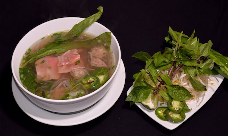 You'll find plenty of options for pho (Vietnamese noodle soup) on Buford Highway. (Malika Bowling)