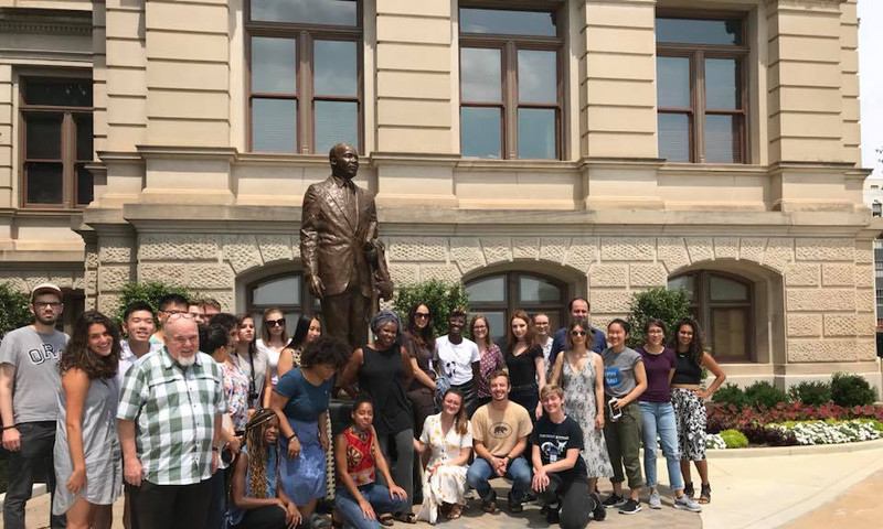 Tom Houck's Civil Rights Tour provides fascinating insights about the civil rights movement. (Photo courtesy of Tom Houck Civil Rights Tour.)