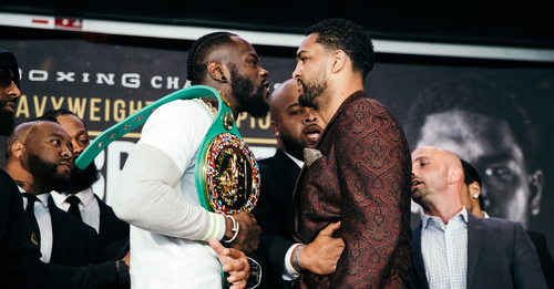 Wilder vs. Breazeale: Sparks Fly at Final Press Conference