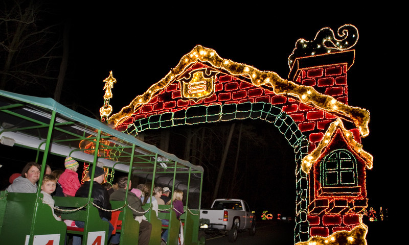 Callaway Gardens Christmas.Here S Where To See Holiday Lights In Atlanta Atlanta