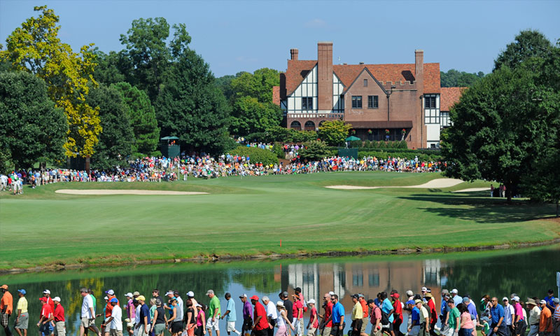 See the world's best golfers at the TOUR Championship's big finale.
