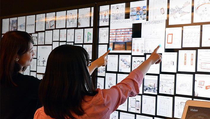 メインビジュアル : お客様とともに働き方の今と未来を共創する場「Mobile Initiative Lab」取材レポート