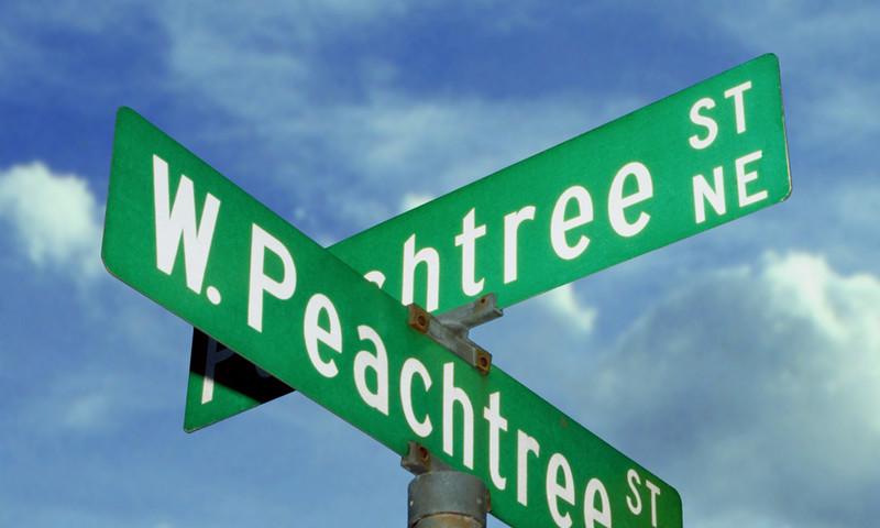Stay on Peachtree Street in the capital of the Peach State. (photo Kevin C. Rose, AtlantaPhotos.com)