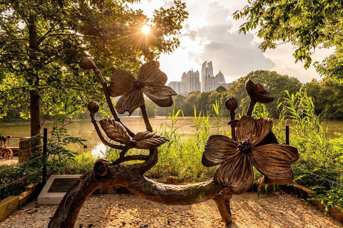 Piedmont Park Flower Sculpture