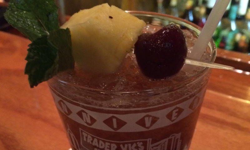 Trader VIc's specializes in tasty Mai Tais.