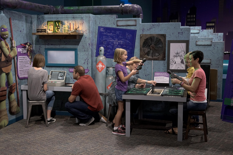 Donnie's Lab_Teenage Mutant Ninja Turtles exhibit_Indianapolis Childrens Museum.JPG