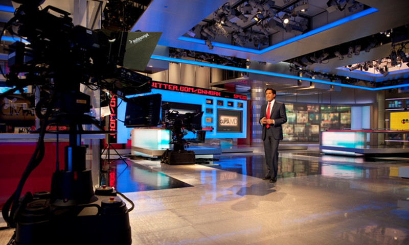 You could run into CNN's Sanjay Gupta at the network's Studio 7.