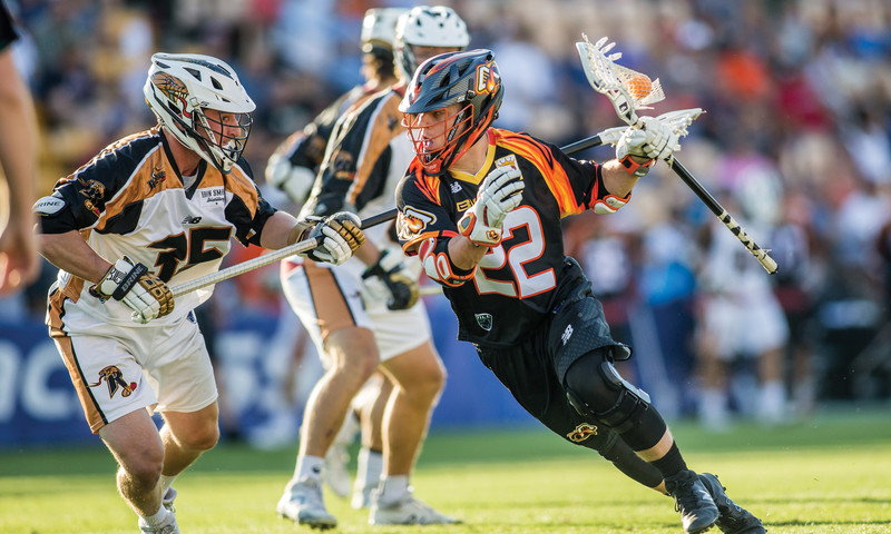 Rochester Rattlers battle against the Atlanta Blaze at Fifth Third Bank. (Brett Davis)