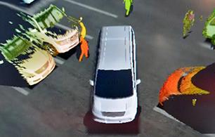 メインビジュアル : 「あぶない!」が一目瞭然。ドライバーに事故のリスクを可視化