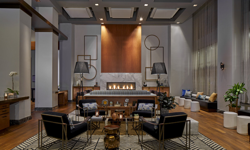 The Renaissance Atlanta Midtown Hotel underwent a major renovation, and guests enjoy an art-filled experience.