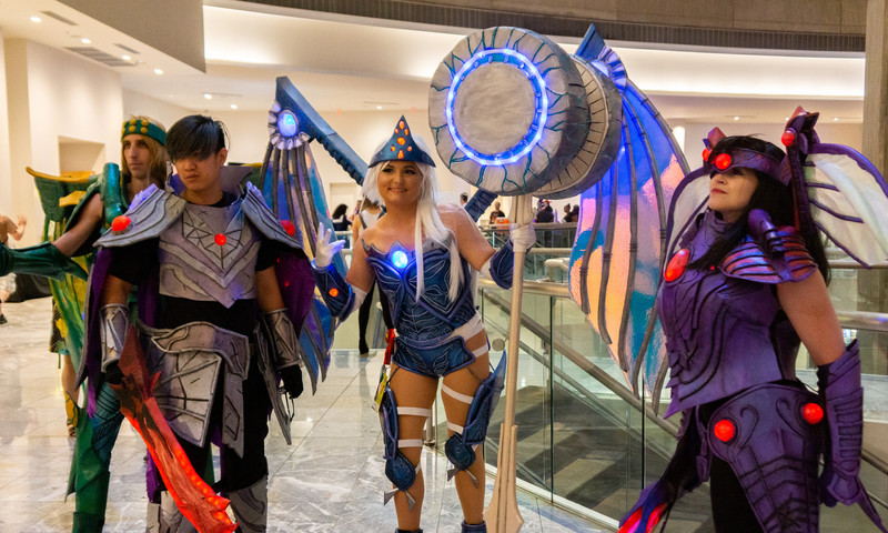 Ready to cosplay from home? Dragon Con is taking it online this year. (📷 Melissa McAlpine)