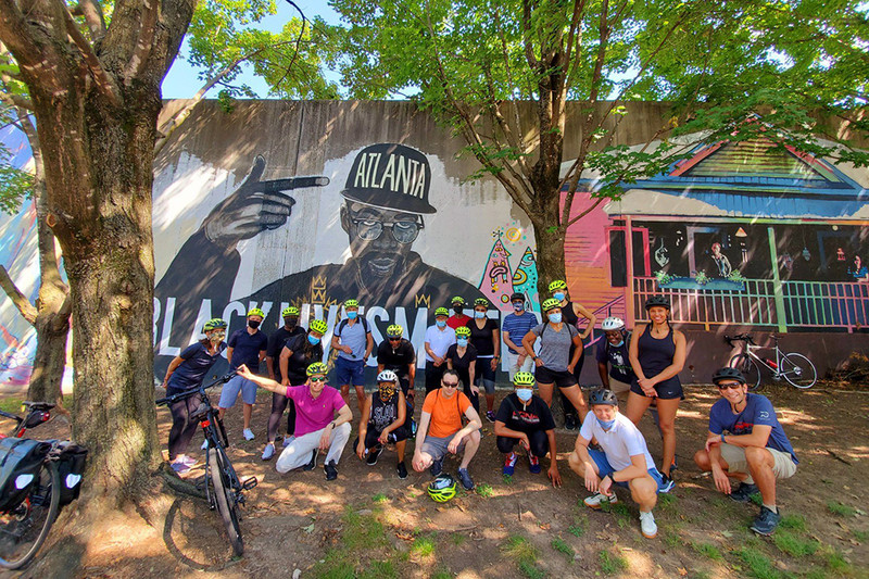 Bicycle Tours of Atlanta offers a variety of tours for adults and older kids.