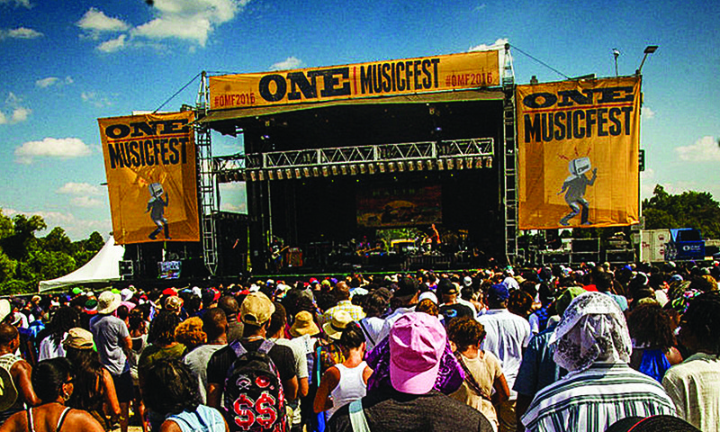 ONE Musicfest boasts the Southeast's largest annual urban progressive festival.