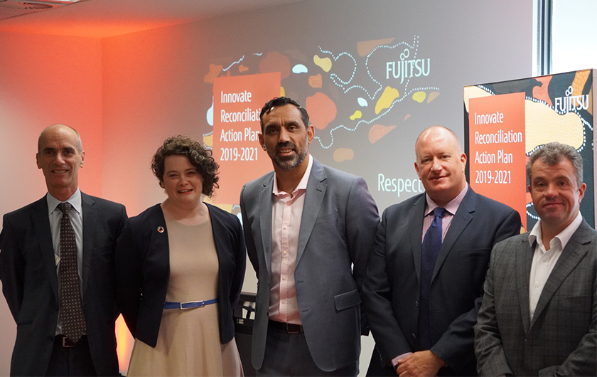 Main visual : Celebrating Fujitsu's first $1M spend with Indigenous Businesses