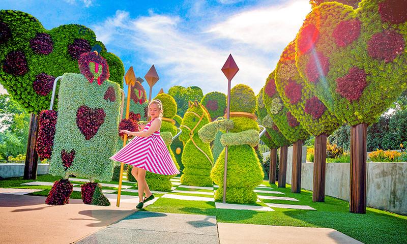 Alice's Wonderland Reimagined will have you twirling into Atlanta Botanical Garden.