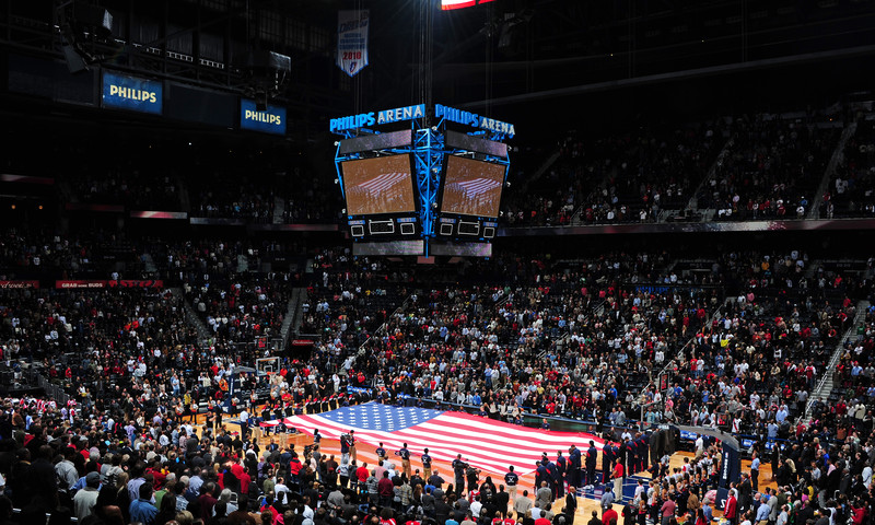 Catch the Hawks vs. the Nets this weekend at Philips Arena.