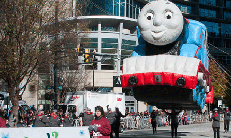 The Children's Healthcare of Atlanta Children's Christmas Parade is a favorite local tradition.