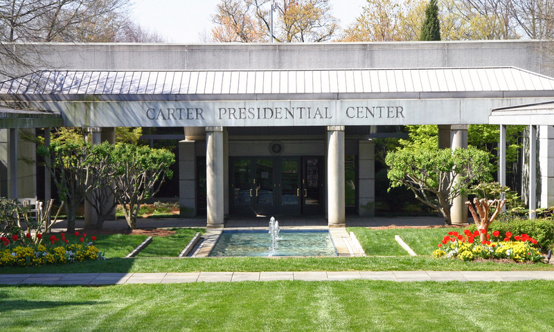 Visit the Jimmy Carter Library & Museum. It's cool inside, and there's a lot to learn.