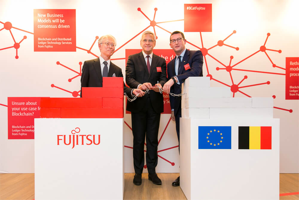 Main visual : Fujitsu Opens Blockchain Innovation Center in Belgium. What Is Fujitsu's Objective?