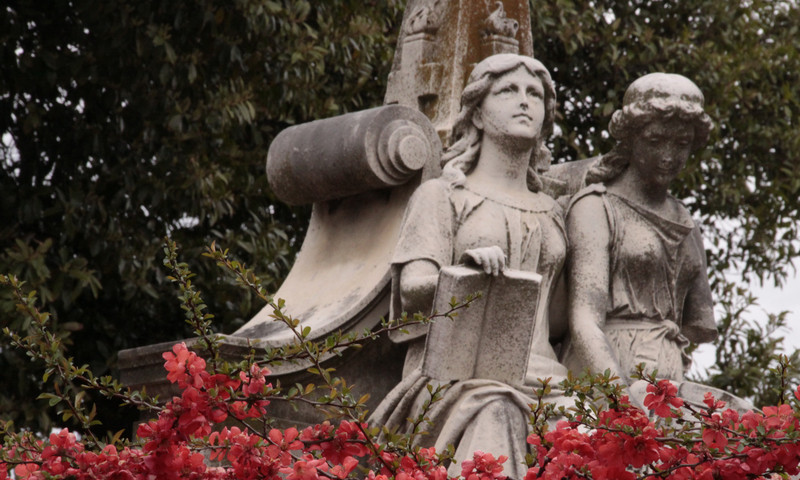 A cemetery for Valentine's Day? Historic Oakland Cemetery is more romantic than you'd think.