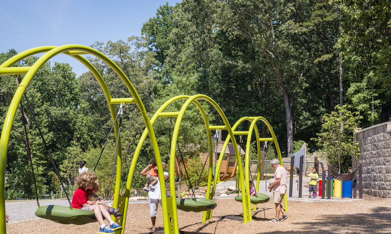 Bring the fam, fam! Chastain Park has great accommodations for kids. (James Duckworth, AtlantaPhotos.com)