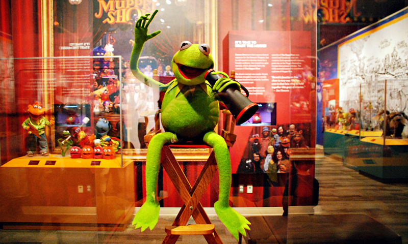 Calling all Kermit fans. The Center for Puppetry Arts is showing a compilation the green frog's memorable moments.