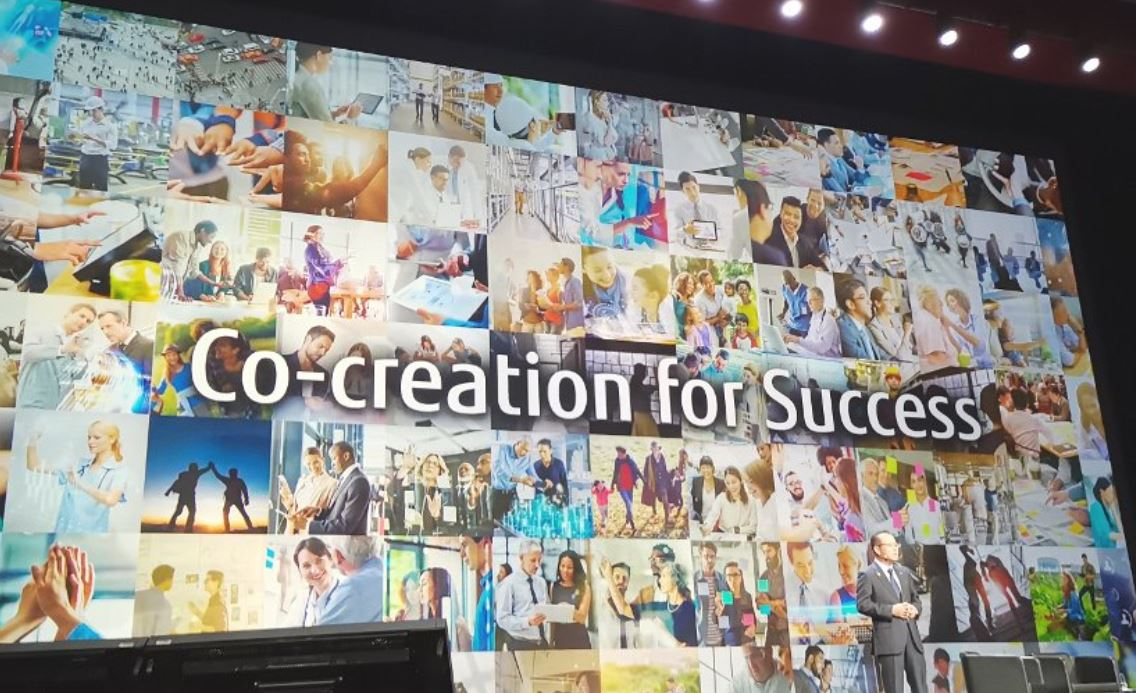 Main visual : Fujitsu Forum 2018: Why co-creation will deliver success