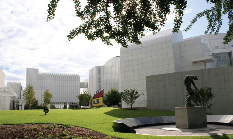 High Museum of Art stands as the top art gallery in the Southeast.