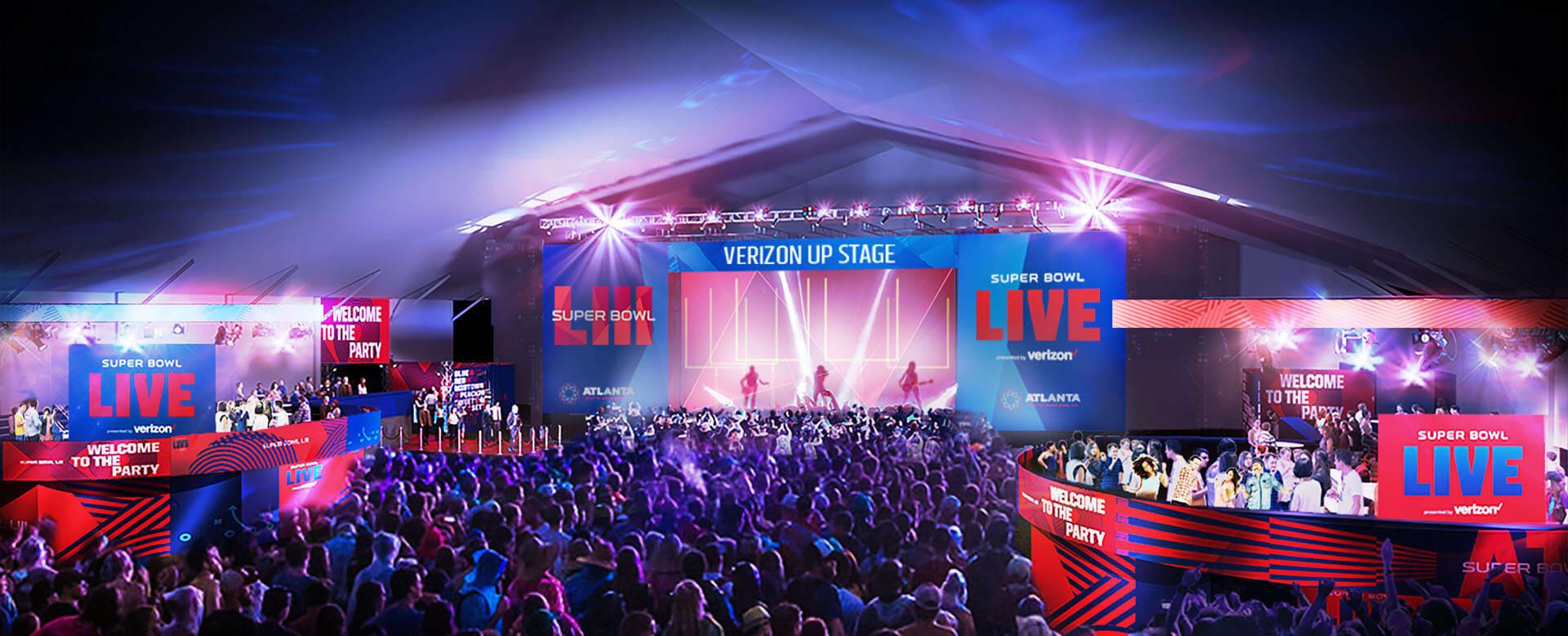 Super Bowl Live presented by Verizon