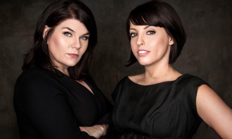 "Karen Kilgariff and Georgia Hardstark bring ""My Favorite Murder"" to the Fox Theatre."