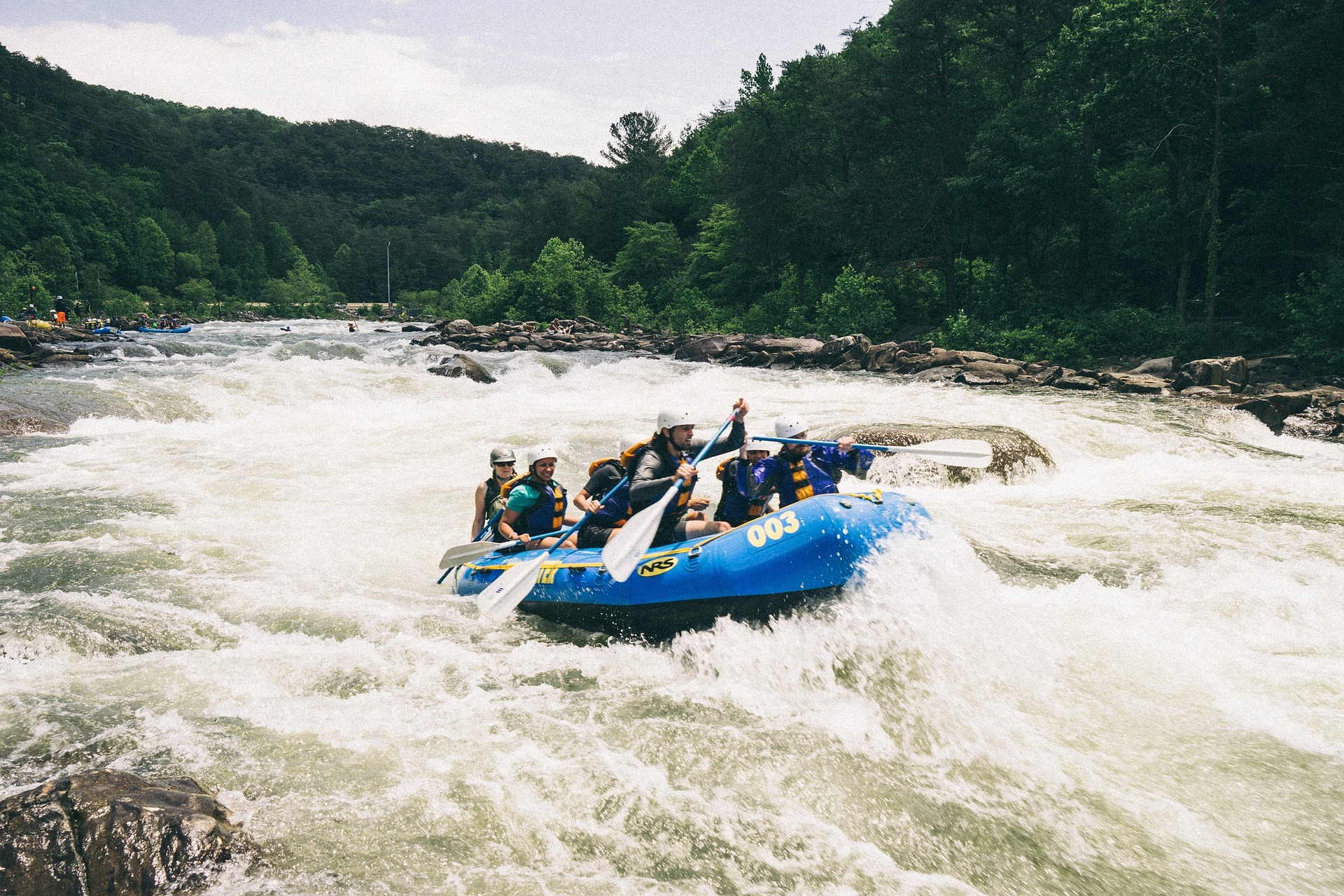 Whitewater Rafting on the Chattahoochee River near Atlanta GA