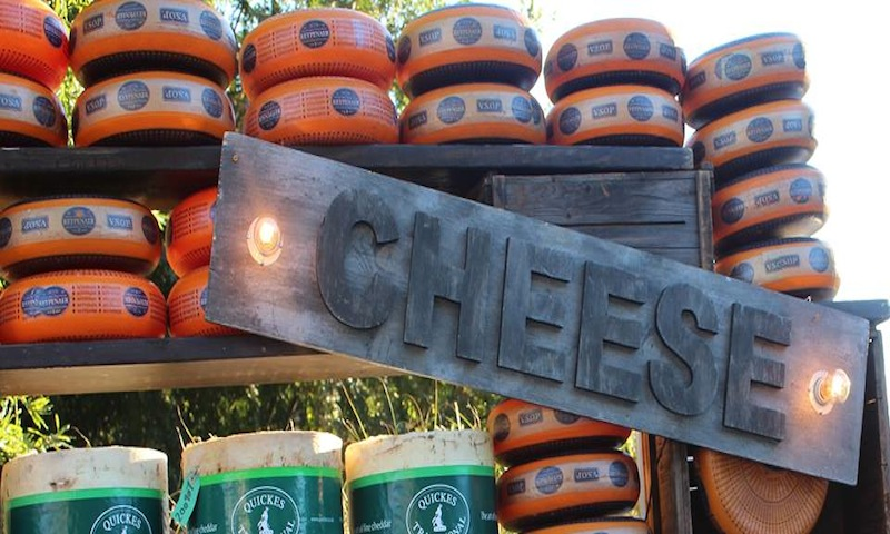 No need to worry about running out of cheese at the Cheese Festival.