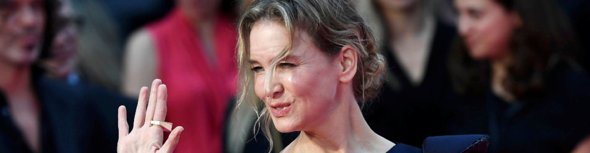 "Renee Zellweger arrives for the world premiere of ""Bridget Jones's Baby"" at Leicester Square in London"