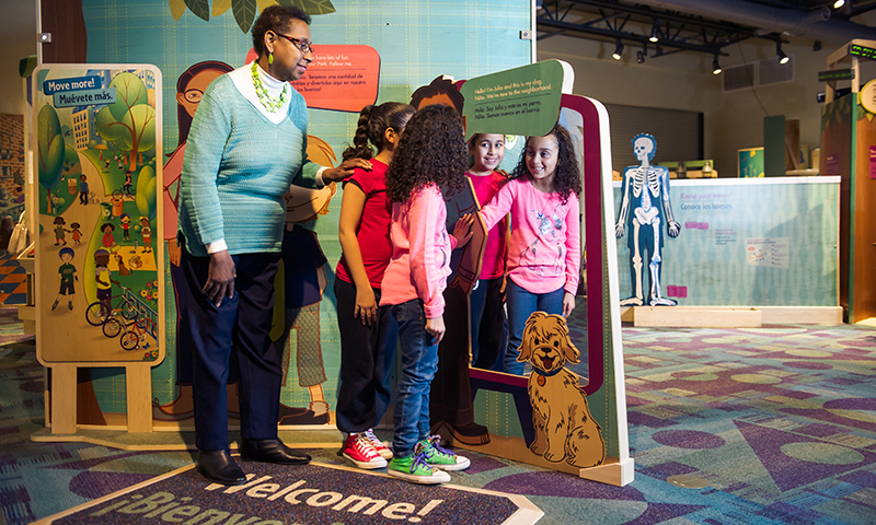 Healthyville Programs at Children's Museum of Atlanta are fun and educational.