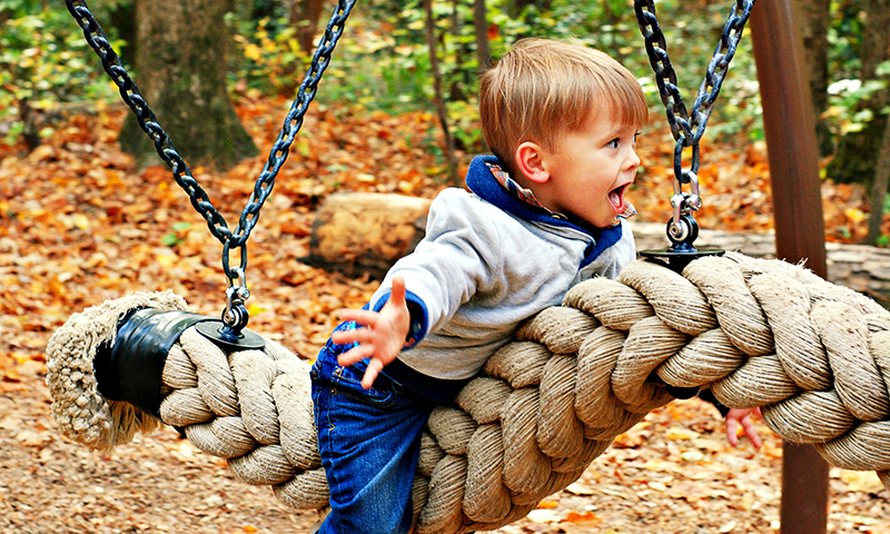 Swing into fun at Dunwoody Nature Center. (Joleen Pete Photography)