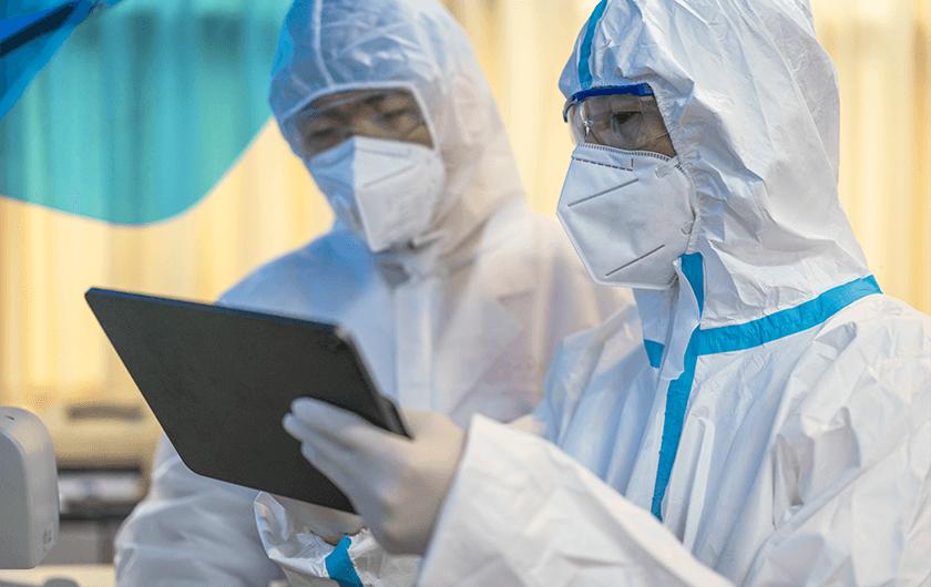 メインビジュアル : 新型コロナウイルスと闘う、医療・自治体の現場①前編 宮城県、「健康観察チャット」で現場のひっ迫を救う