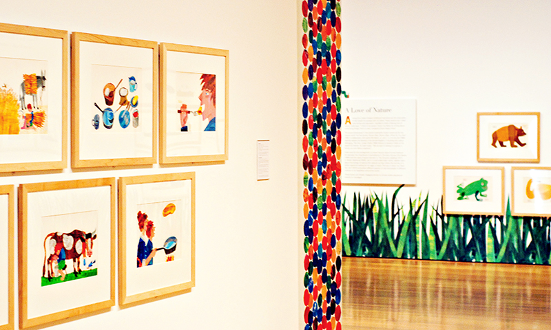 The Eric Carle exhibit has been extended at the High Museum of Art. (Joleen Pete Photography)