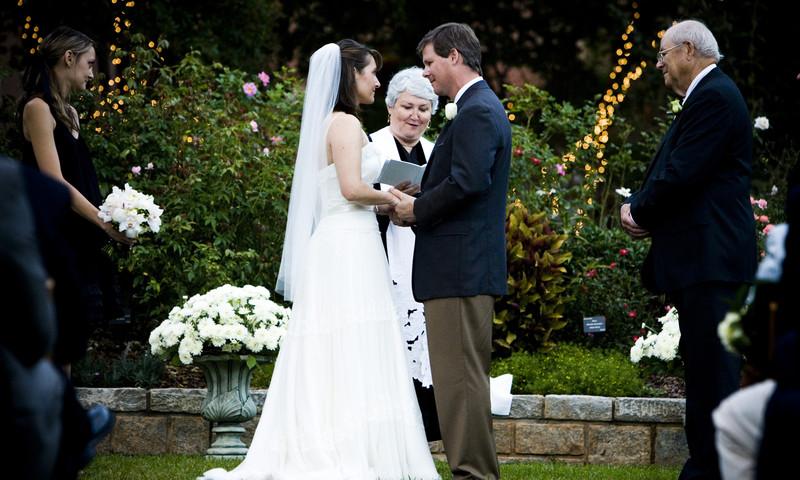 The Atlanta Botanical Garden provides a perfect backdrop for the perfect wedding.