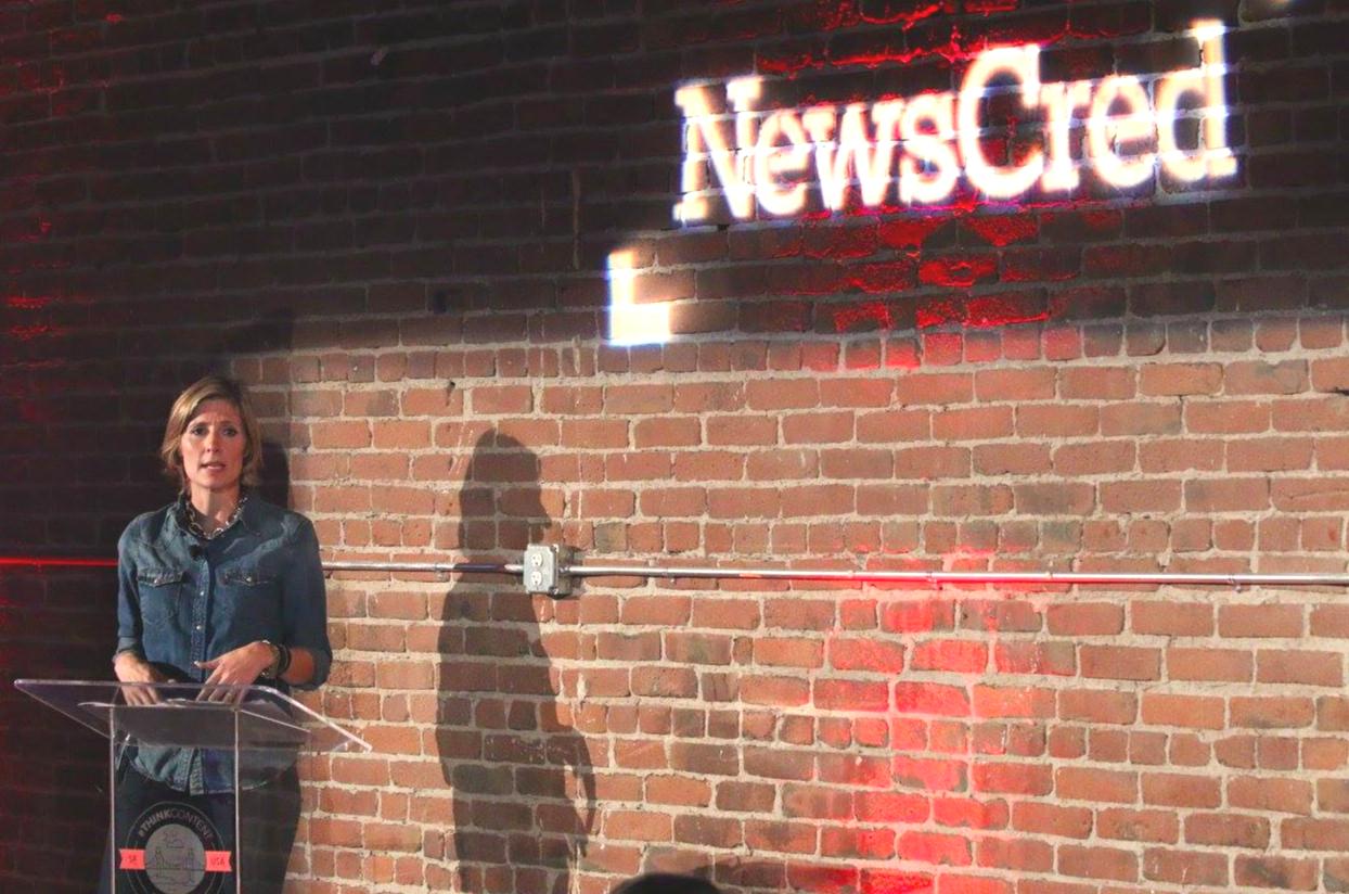 Kelly McGinnis Levi Strauss NewsCred #ThinkContent