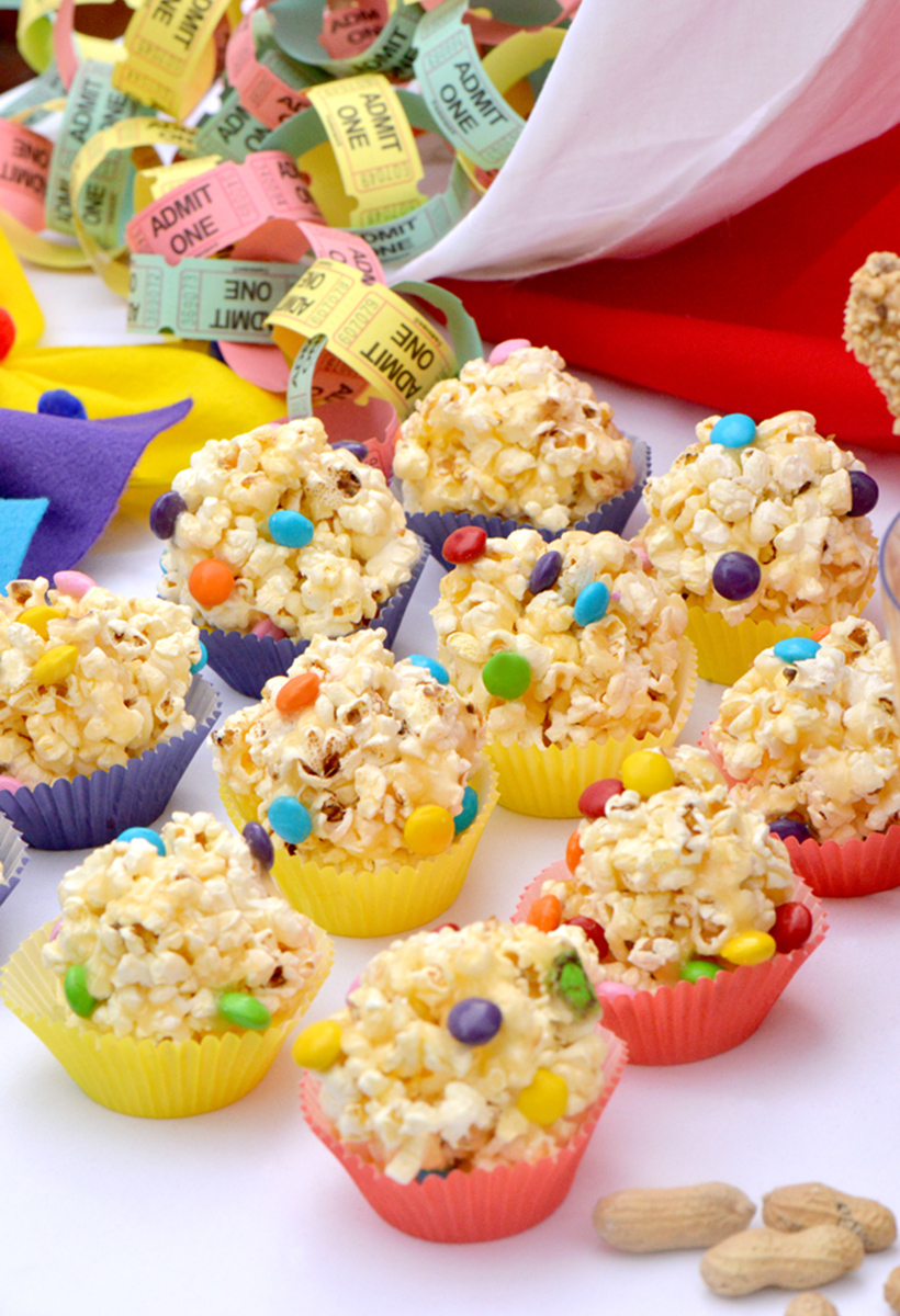 Salty-Sweet Popcorn Balls