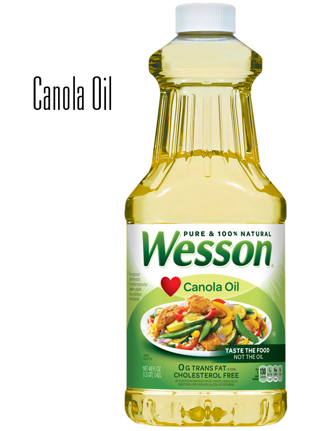 vegetable vs canola oil baking