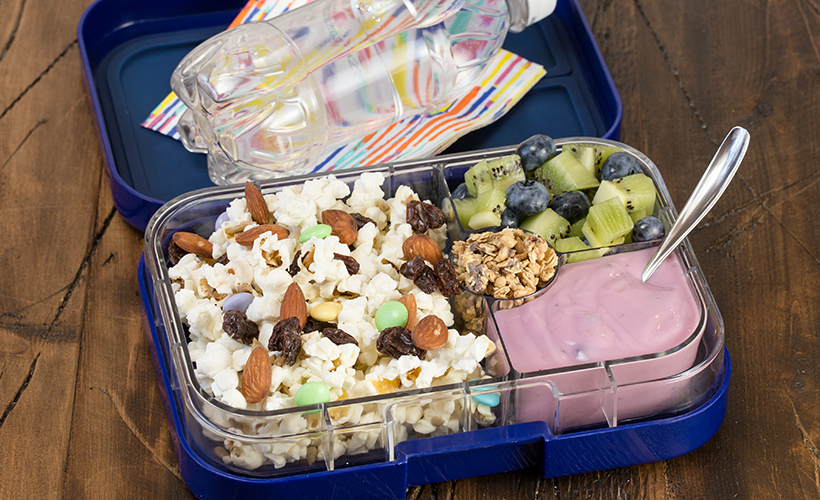 Popcorn Trail Mix Bento Box